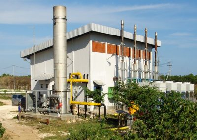 Dry AD site - Power Station - Gas conditioning - Bali